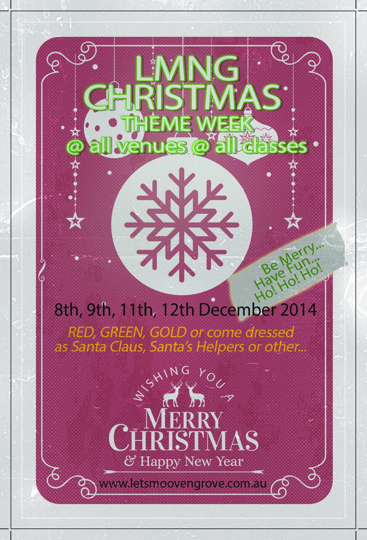 Christmas Theme Flyer